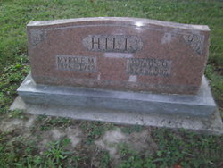 Myrtle Maggie <I>Blose</I> Hill