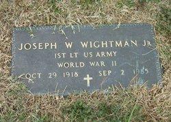 Joseph W Wrightman, Jr