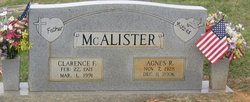 Clarence F. McAlister