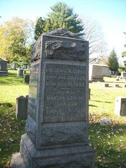 Martha Louisa <I>Johnson</I> Capen
