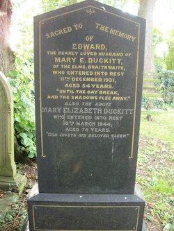 Mary Elizabeth Duckitt