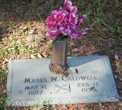 Mabel W. Caldwell