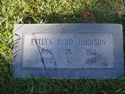 Evelyn <I>Byrd</I> Johnson