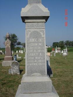 Mary A. <I>Kney</I> Hawkins