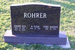 Edward Max Rohrer