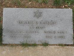 Morris B. Katzoff