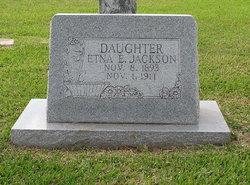 Etna E <I>Robinson</I> Jackson