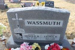 Leona B <I>Schumacher</I> Wassmuth