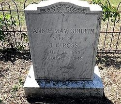 Annie May <I>Griffin</I> Ross