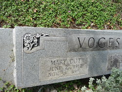 "Mary Agnes ""Dot"" Voges"