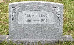 Callia F. Leake