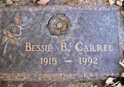 Bessie B. <I>Knorr</I> Carrel