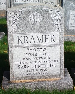 Sara Gertrude Kramer