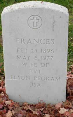 Frances Pegram