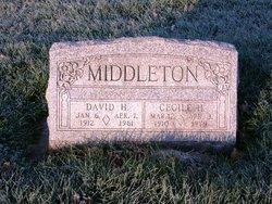 Cecile <I>Hudson</I> Middleton