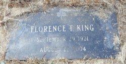 Florence T <I>Leonard</I> King