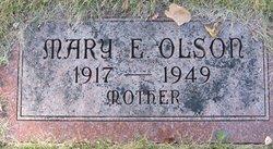 Mary Ella <I>Williams</I> Olson