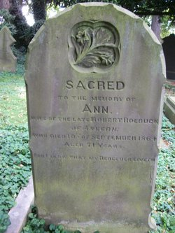 Ann <I>Wickham</I> Roebuck