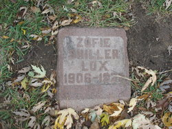 Zofie <I>Shiller</I> Lux