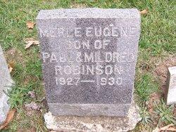 Merle Eugene Robinson