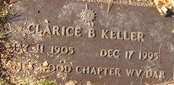 Clarice Blondell <I>Buckner</I> Keller