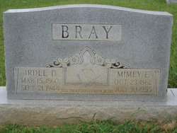 Mimey Elizabeth <I>Mayfield</I> Bray