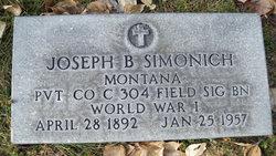 Joseph B Simonich