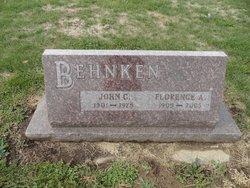 Florence A. <I>Hansen</I> Behnken