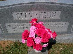 """John Kermit """"Steve"""" Stevenson"""