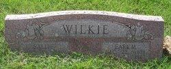 """Sarah """"Sallie"""" <I>Barkley</I> Wilkie"""