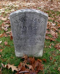 Mary Jane <I>Allen</I> Myers