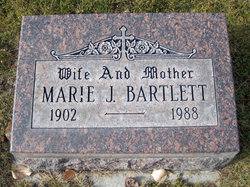 Marie J Bartlett