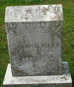 Sarah E <I>Minker</I> Miles
