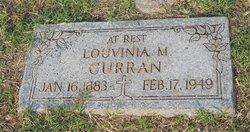 Louvinia Margaret <I>Parrish</I> Curran