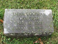 Emma <I>Cochran</I> Campbell