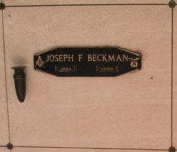 Joseph Francis Beckman