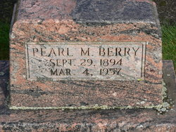 Pearl M Berry