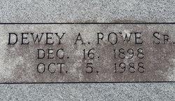 Dewey A Rowe, Sr