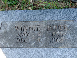 Winnie Rowe
