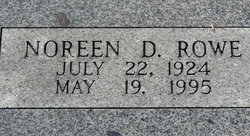 Noreen D <I>French</I> Rowe