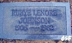 Rubye Lenore Johnson