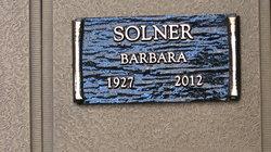 Barbara Solner