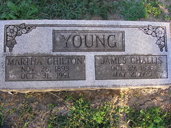 Martha Chilton <I>Rucker</I> Young