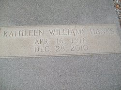 Kathleen <I>Williams</I> Hanks