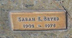 Sarah E Beyer