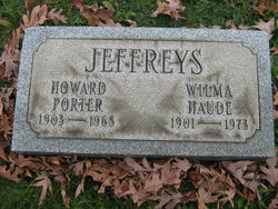 Howard Porter Jeffreys