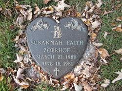 Susannah Faith Zoerhof
