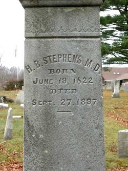 Dr H. B. Stephens