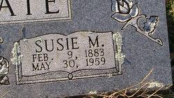 Susie M <I>Harris</I> Shumate