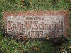 Katherine W <I>Veith</I> Schmidt